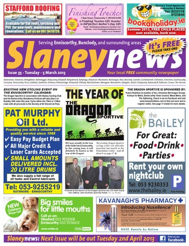 ecc6ceb2168d Slaney News Issue 35 by Frank Corcoran - issuu