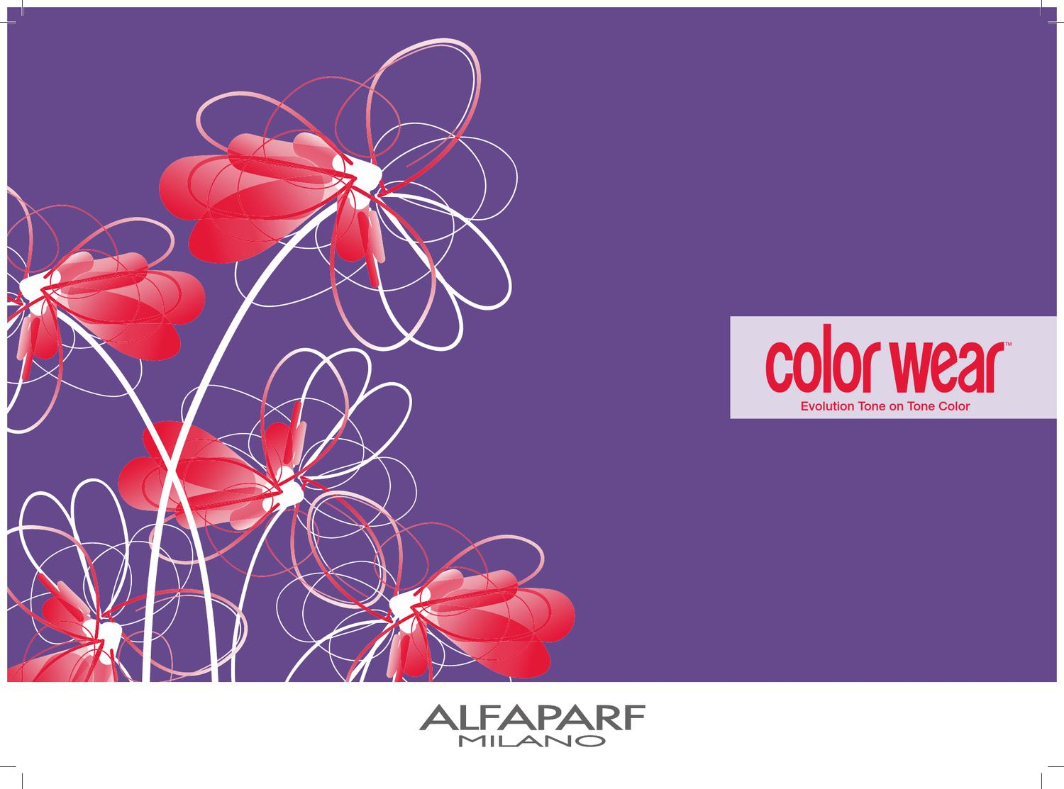 Alfaparf Milano Usa Color Wear Brochure By Alfaparf Milano Usa Issuu