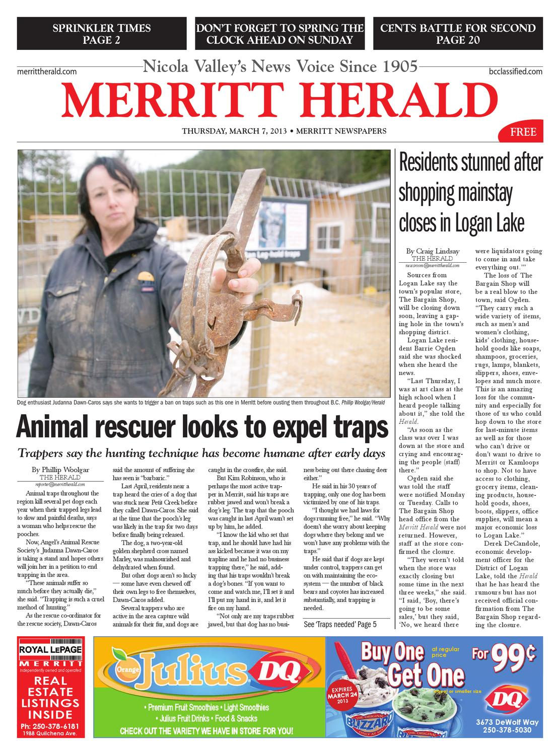 Merritt Herald March 07 2013 By Black Press Issuu Tm551279 Diesel Electric 56 Gage 44 Ton 0440 400 Hp Davenport