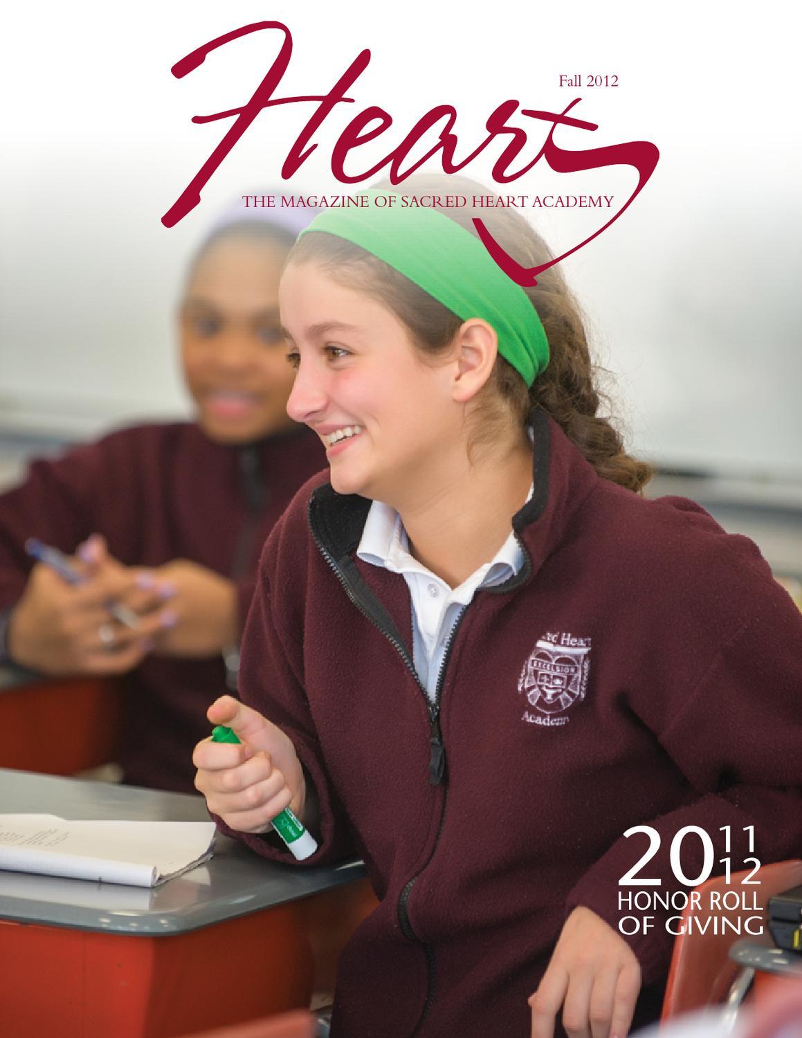 HEART Magazine Fall 2012 By Sacred Heart Academy Issuu