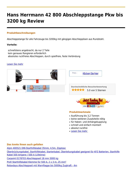413e9a2038 Hans Herrmann 42 800 Abschleppstange Pkw bis 3200 kg by peterem ccain -  issuu