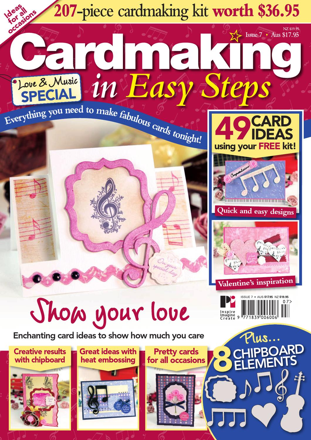 Card Making Ideas Nz Part - 35: Cardmaking In Easy Steps By Practical Publishing - Issuu