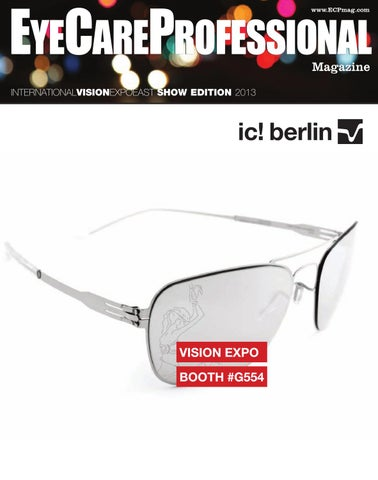 582d83e7a8a79 EyeCare Professional Magazine - Vision Expo East 2013 Show Guide by ...