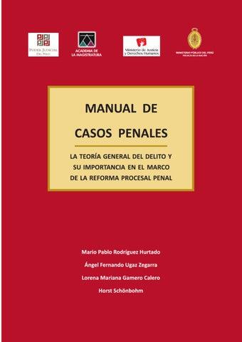 Manual de Casos Penales (Aumentado) by Reforma Procesal Penal - issuu