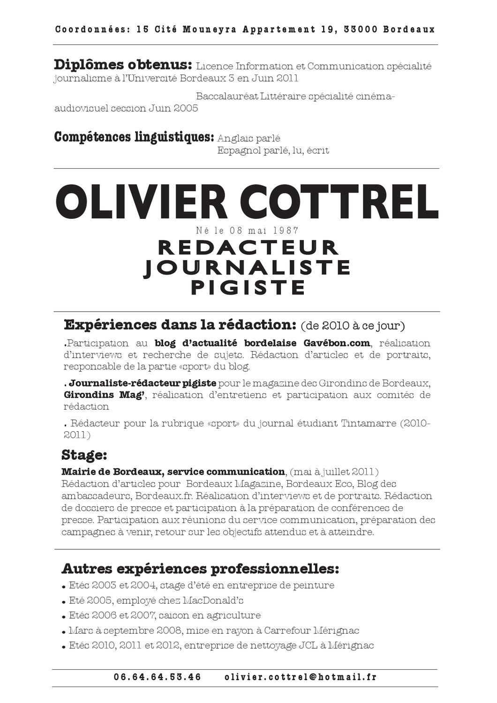 cv olivier cottrel by club de la presse de bordeaux