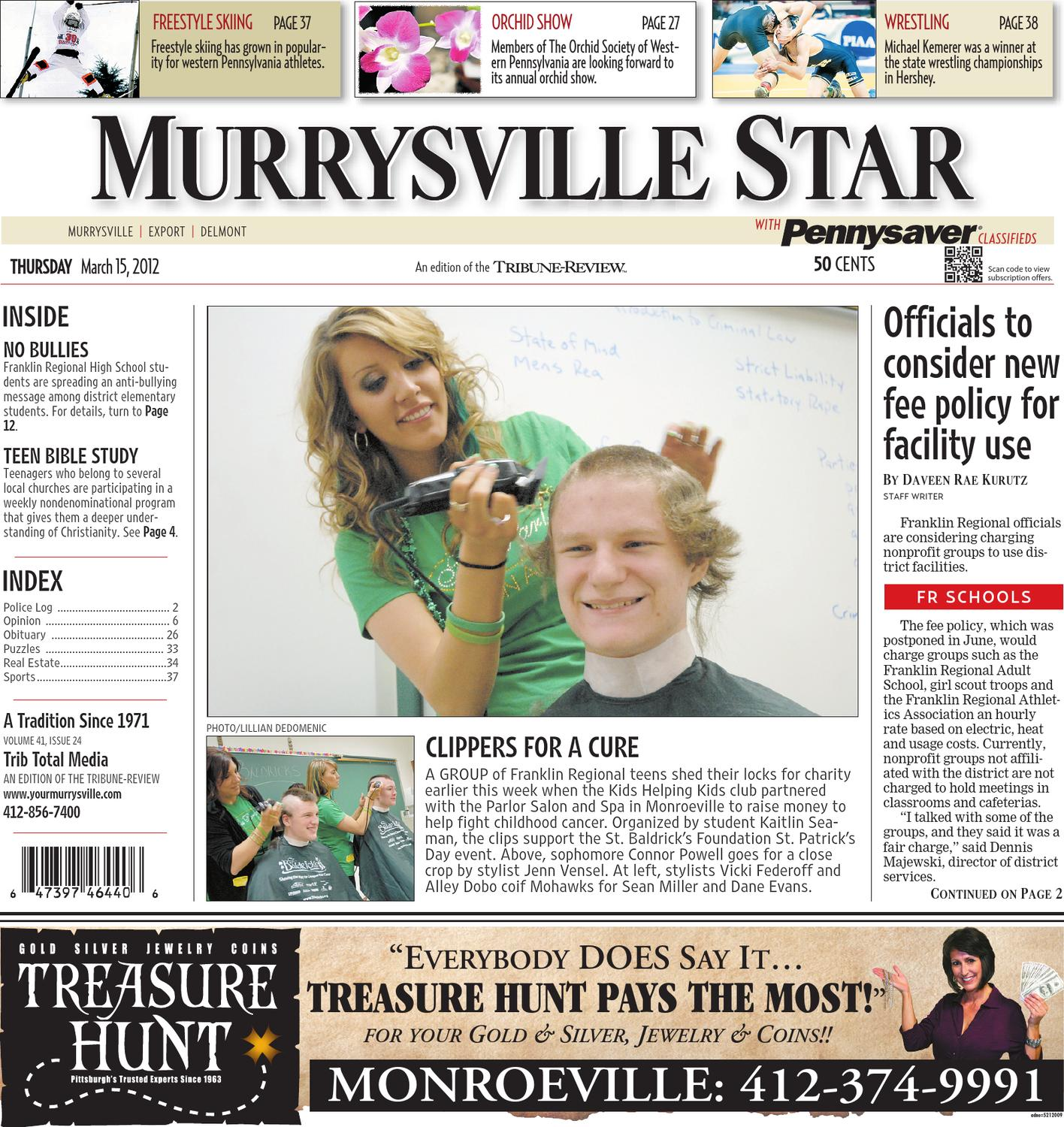Murrysville Star March 15, 2012 by Daveen Kurutz - issuu