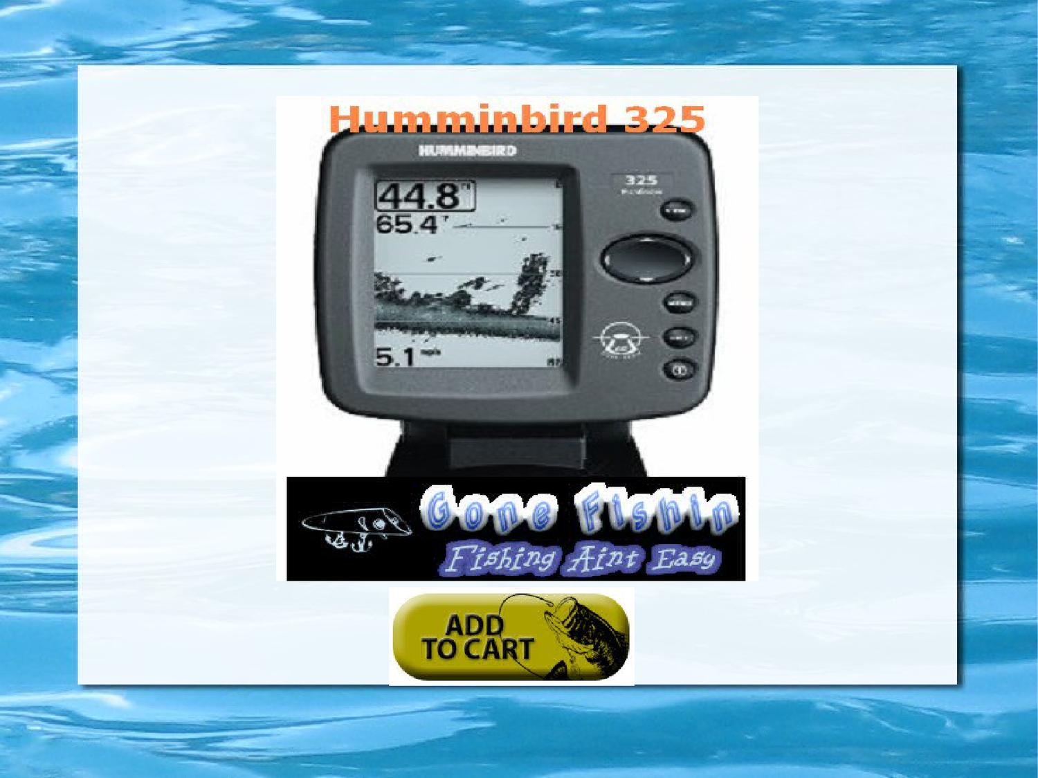 Aninimal Book: Humminbird 325 Fishfinder Review by Jim Moore - Issuu