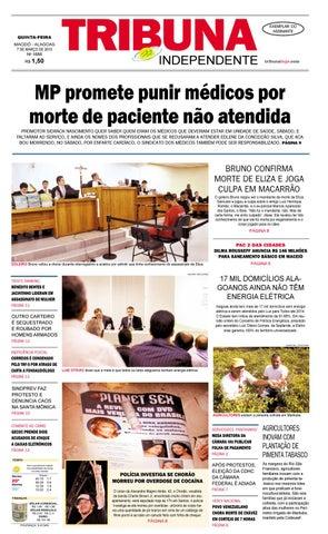 af3e3688d Edição número 1686 - 7 de março de 2013 by Tribuna Hoje - issuu