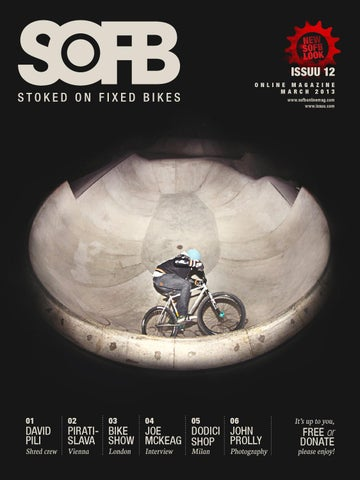 STOKED ON FIXED BIKES ONLINE MAG FREE ISSUE 12 by Stoked On Fixed ... 83c22b648