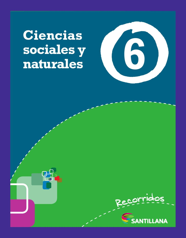 libro hipertexto santillana sociales 6 pdf