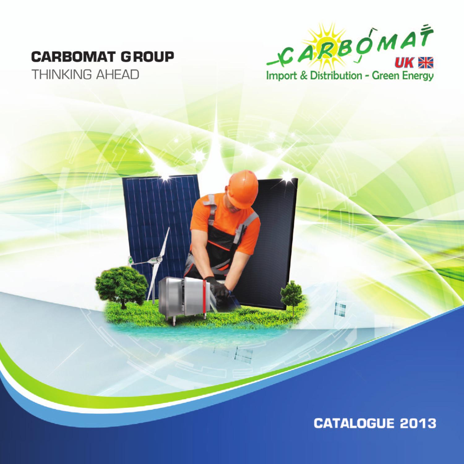 Carbomat Uk Catalogus 2013 By Benoit Materne Issuu Usb Powerinjector For Gsm Modem Maximizing And Stabilization