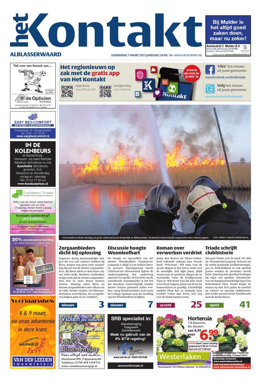 10 Editie Alblasserwaard 2013 by Kontakt Mediapartners issuu