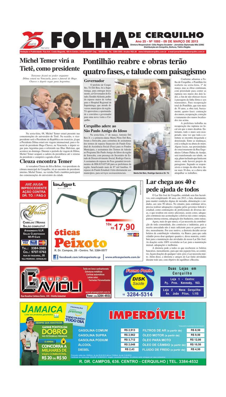 aa04ef8084a JORNAL FOLHA DE CERQUILHO - ED 1093 by Jornal Folha de Cerquilho - issuu