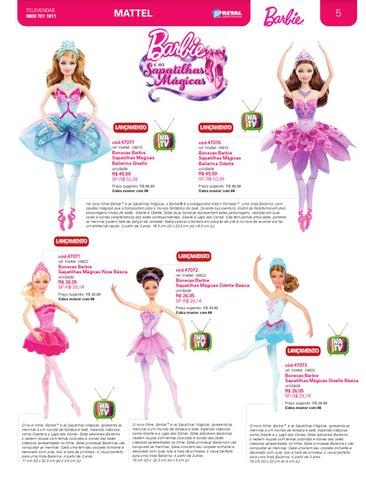 057e04908f Revista Reval Mattel 2013 by Reval Atacado de Papelaria Ltda. - issuu