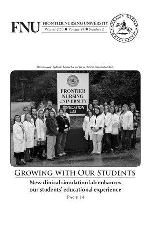 Fnu Quarterly Bulletin Volume 88 Number 2 By Frontier Nursing