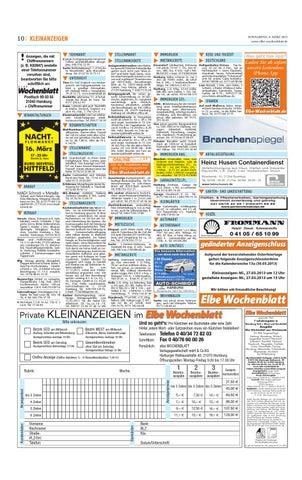 Wochenblatt Tiermarkt