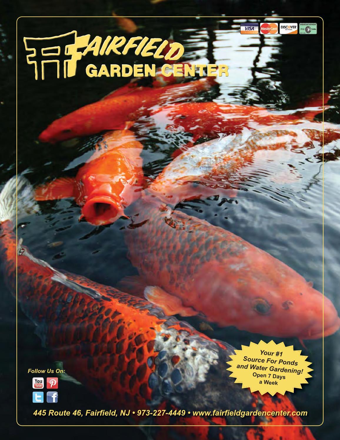 Fairfield Garden Center Water Gardening Catalog By Frank