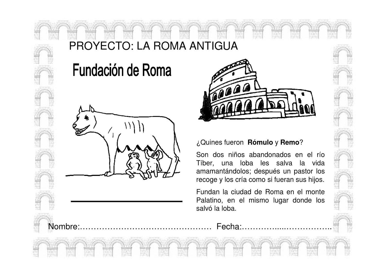 fichas de roma by pepi corrla - Issuu
