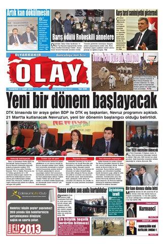11 03 2013 Gazete Sayfalari By Diyarbakir Olaygazetesi Issuu
