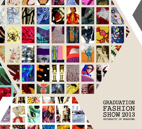 Graduation Fashion Show 2013 University Of Moratuwa By Sumith Gopura Issuu