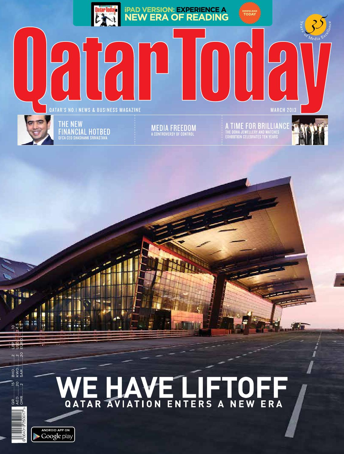 Qatar Today March 2013 By Oryx Group Of Magazines Issuu