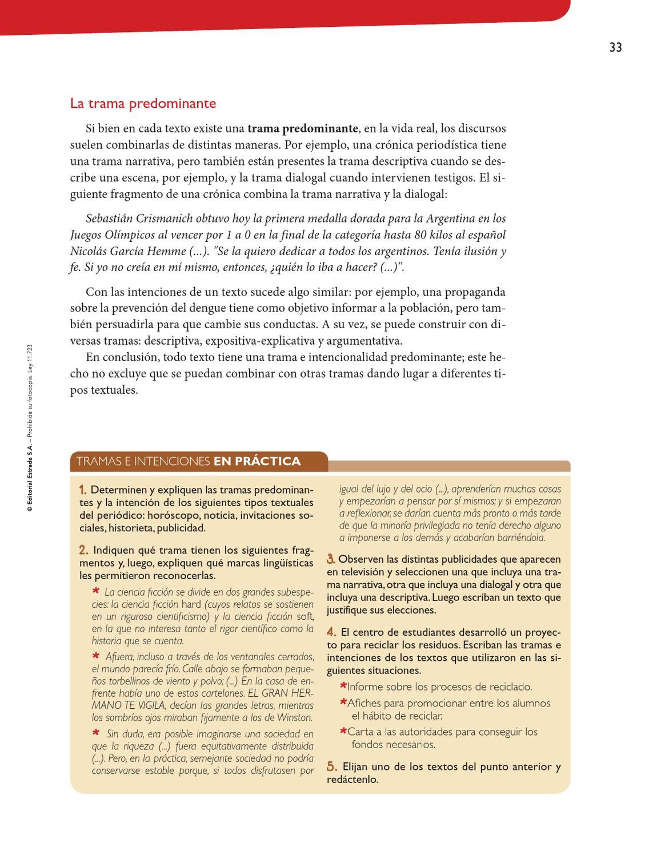 Practicas del lenguaje 3 Huellas SECCION 2 PAG 26 a 39 by Macmillan ...