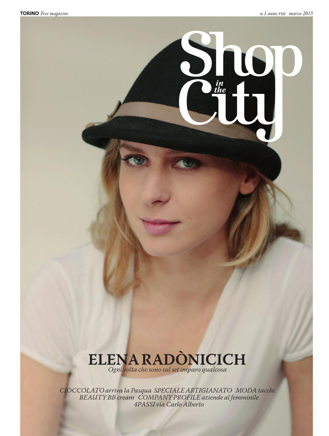2013 Shop Issuu City In The Marzo By Shopinthecity QrstdCh