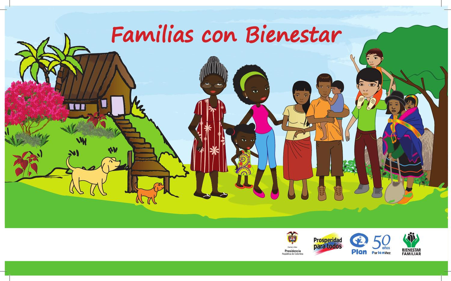 Cartillas familias con bienestar by fundaci n plan issuu for Oficina de bienestar social y familia