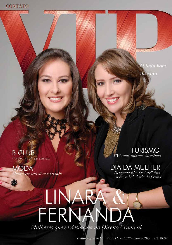 Ano XX - Nº 220 - Março 2013 by Contato VIP - issuu fb93416e75