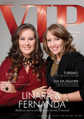 Ano XX - Nº 220 - Março 2013 by Contato VIP - issuu ff960b055f