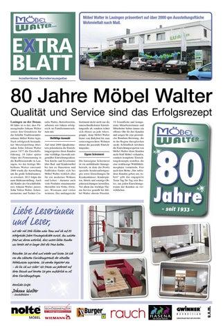 Sonderzeitung 80 Jahre Mobel Walter Gmbh Aus Lauingen By Tobias