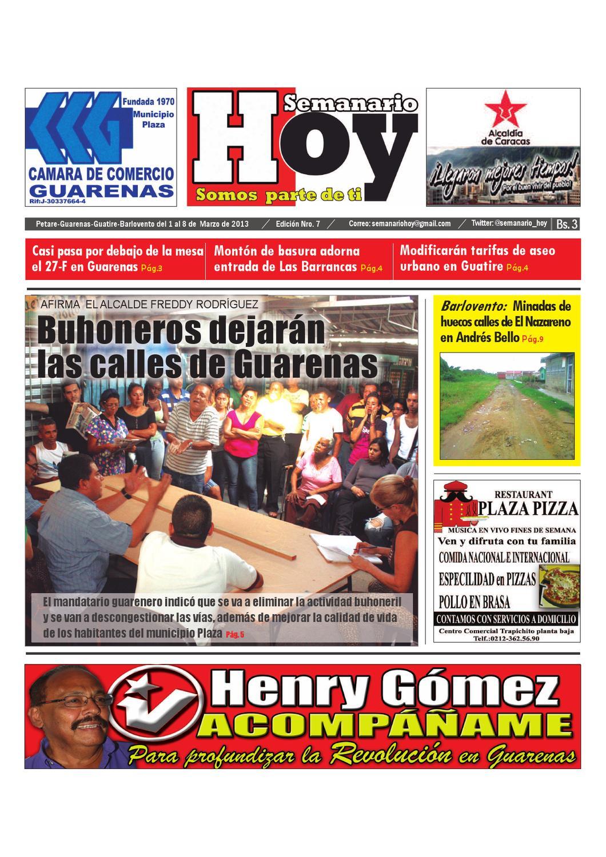 Semanario Hoy Edicion 7 by yhopmi cordero - issuu