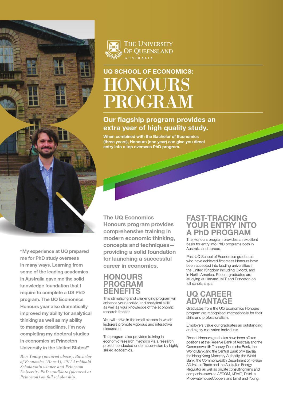 UQ Economics Honours Program by Economics @ UQ - Issuu