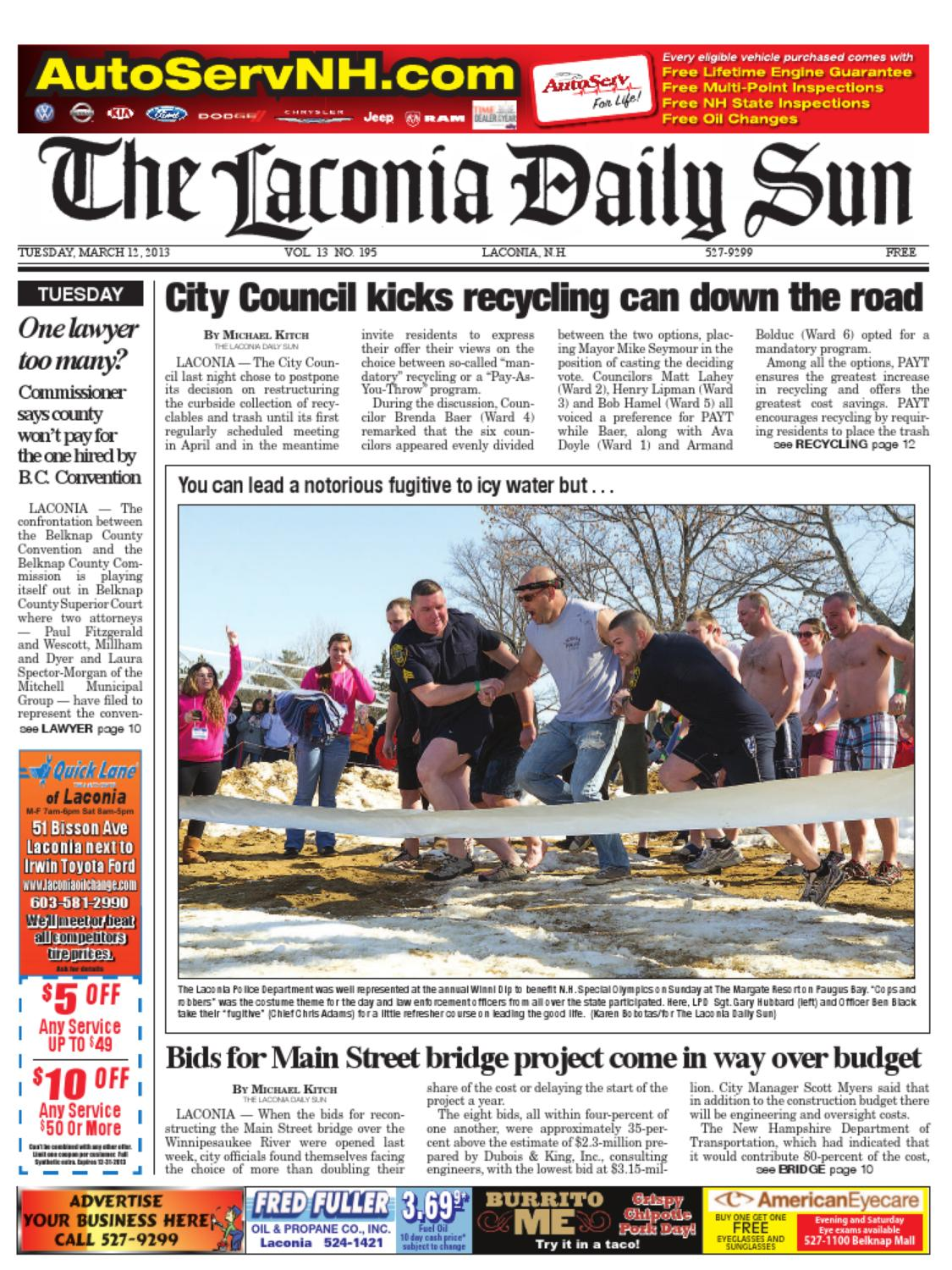 The Laconia Daily Sun March 12 2013 By Daily Sun Issuu