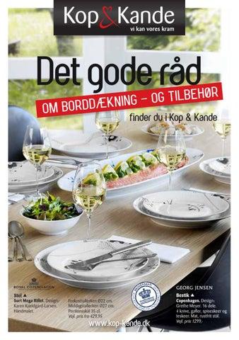 Det gode råd - om borddækning by Kop & Kande - Issuu