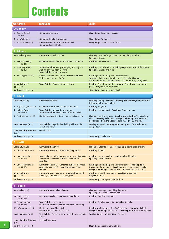 new challenges 3 workbook ответы/