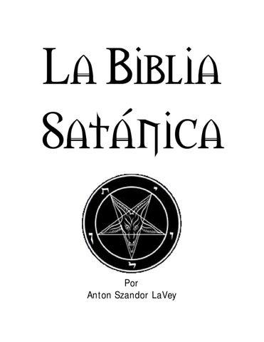 Biblia Satanica By Javier Bernal Issuu