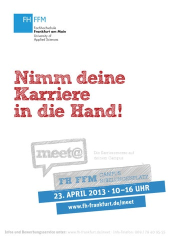 Messeguide FH FFM 2013 I by IQB Career Services AG - issuu