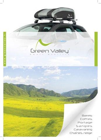 Green Valley 127100 Grille Pare Chien Monospace et 4x4