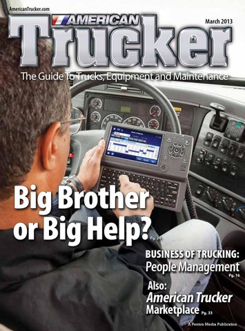 American Trucker Central March Edition by American Trucker