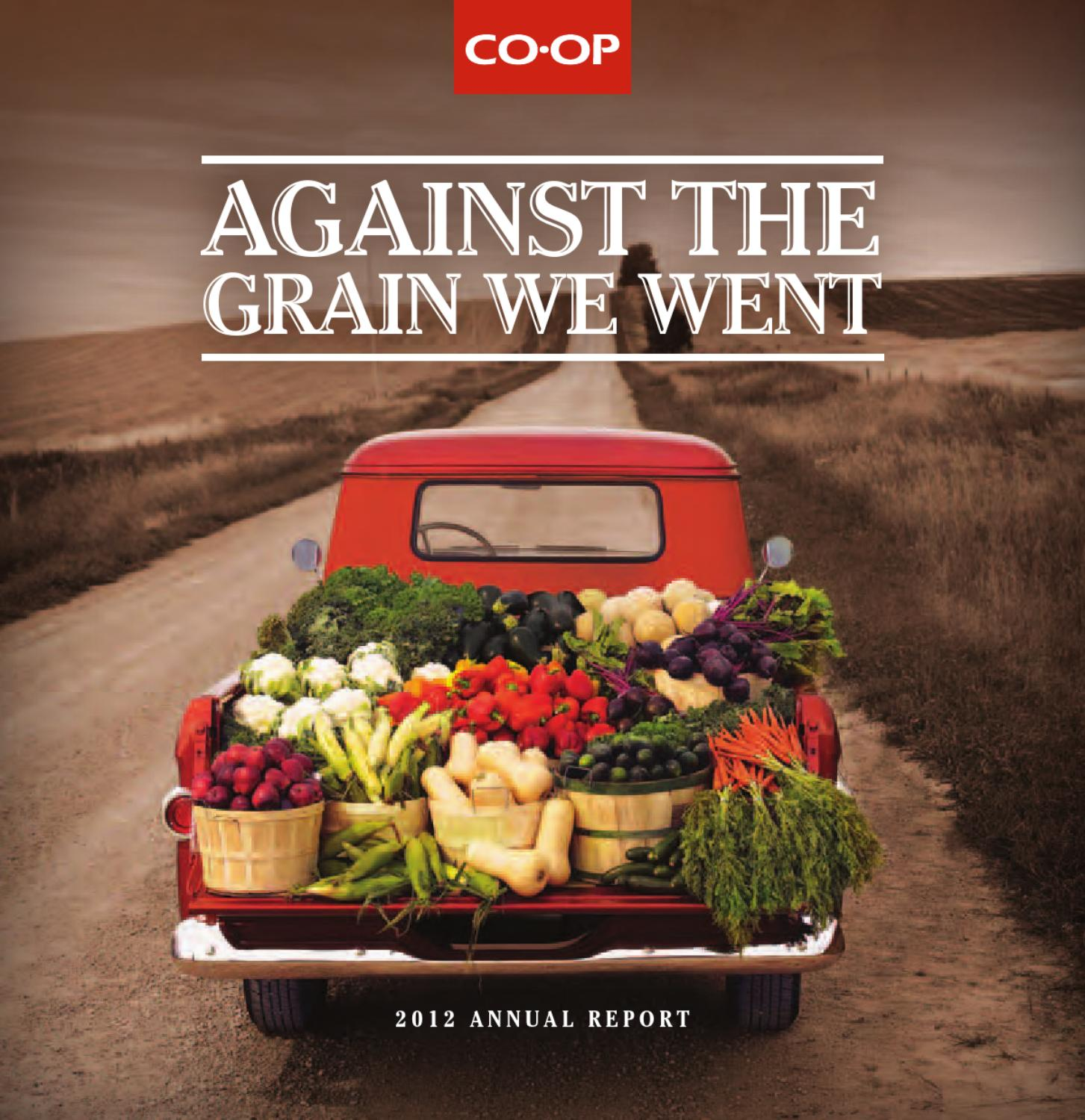 Co Op 2012 Annual Report By Calgary Co Op Issuu
