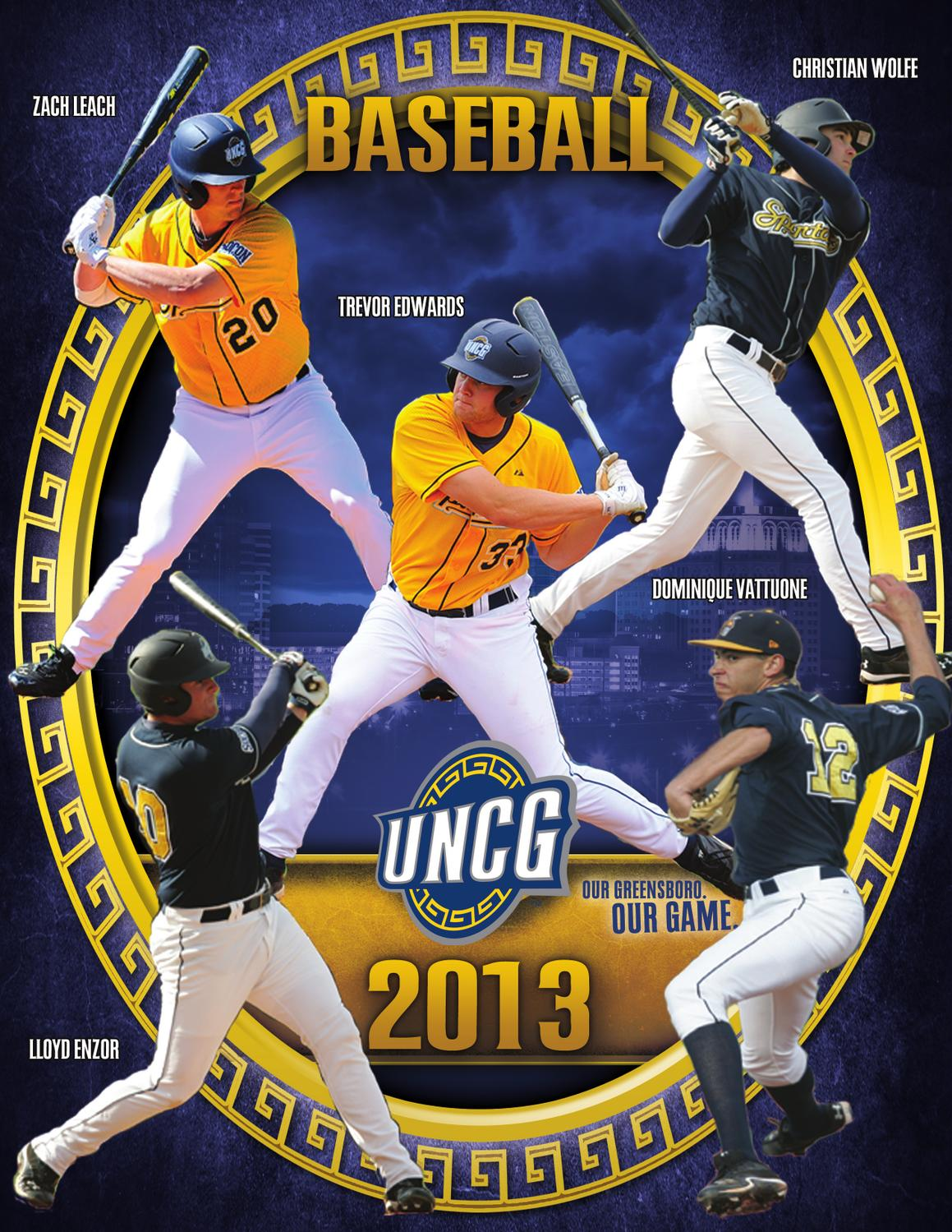2013 UNCG Baseball Digital Guide by UNCG Athletics - issuu 9aa8892bc