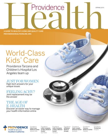 Providence Health Magazine - Spring 2013 by Providence