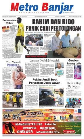 Metro Banjar Edisi Cetak Rabu 13 Maret 2013 By Harian Metro Banjar