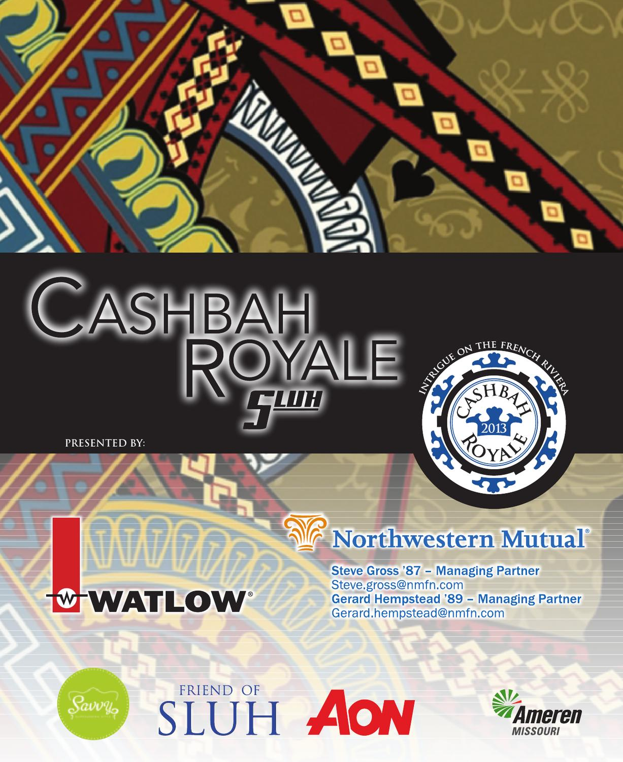 0b253e288384f 2013 Cashbah Catalog by SLUH - issuu