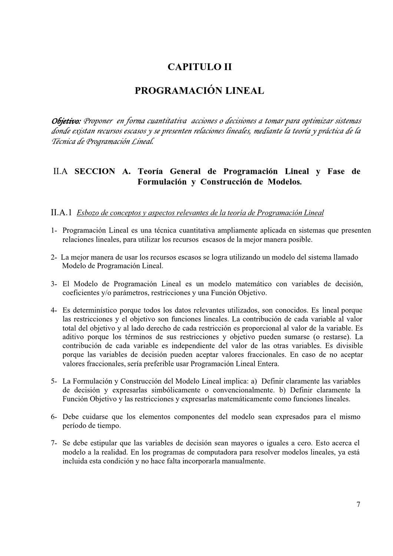 Conceptos y Formulación de Problemas de Programación Lineal by ...