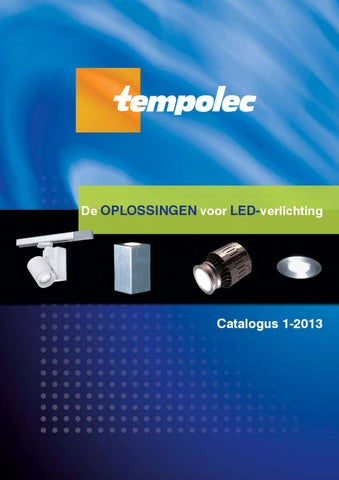 Led verlichting catalogus by TEMPOLEC - issuu