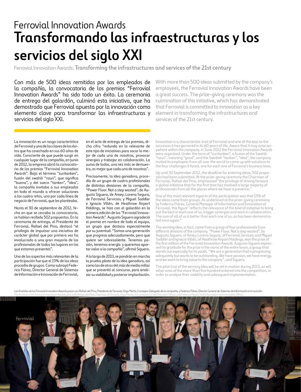 Inforvial - Edición Especial 60 Aniversario- Ferrovial by
