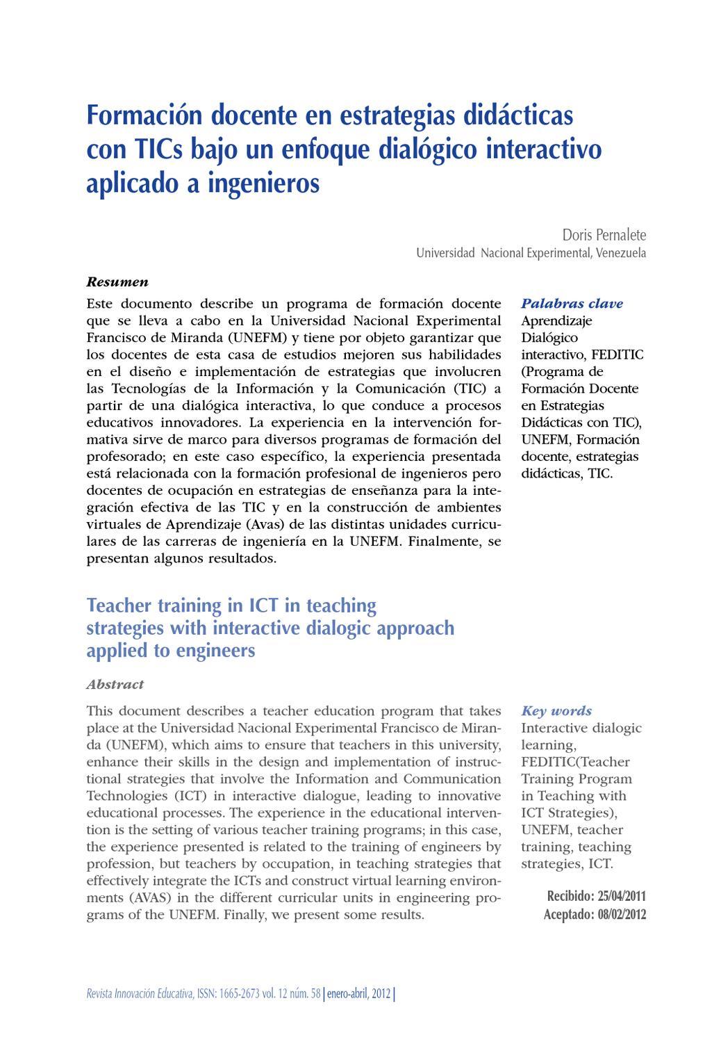 FORMACION DOCENTES EN TIC by Maria Tamayo - issuu