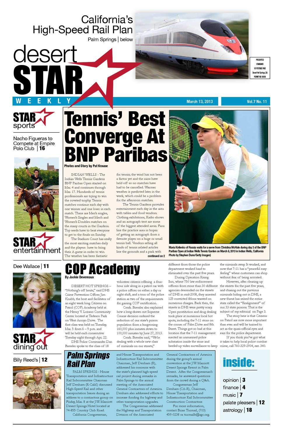 Desert Star Weekly Mar. 13, 2013 Issue by The Desert Star Weekly ...